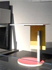 Gerrit Reitveld Table, Pompidou Center 2011, Photo Romi Cortier