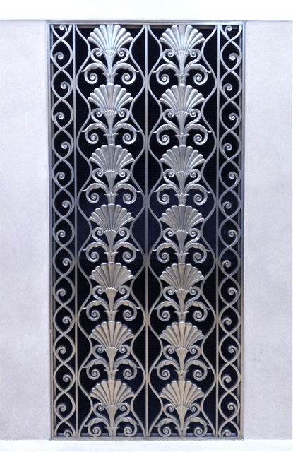 Waldorf Astoria Vent Register, Photo Romi Cortier