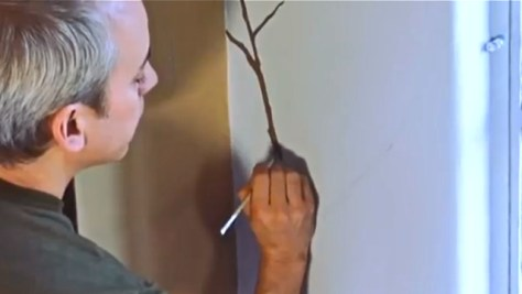 Painting the Branches of the Surrealist Mural