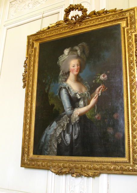 Marie Antoinette Portrait, Grand Trianon, Versailles, Photo Romi Cortier