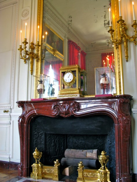 Fireplace at Petite Trianon, Versailles, Photo Romi Cortier