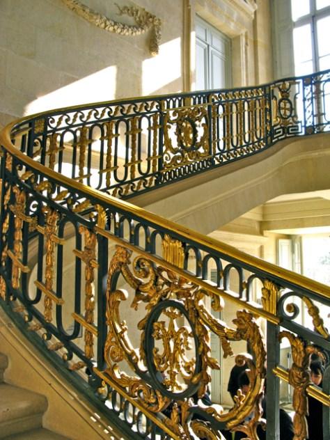 Stairwell, Petite Trianon, Versailles, Photo Romi Cortier