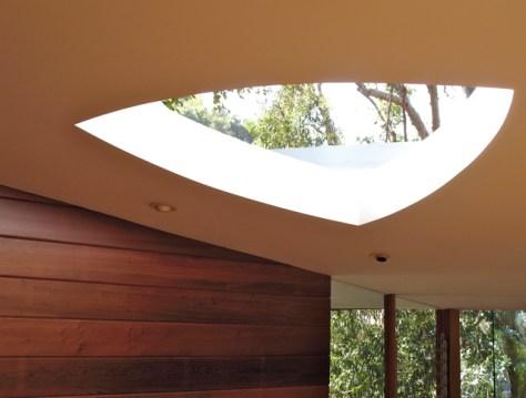 Skylight, Tyler Residence by John Lautner, Photo Romi Cortier