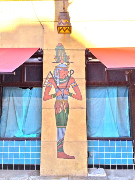 Egyptian Theater Mural, Hollywood, Photo Romi Cortier