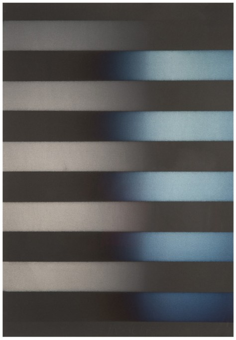 Lot 224, Vapor Drawing, Larry Bell, 1978, Image Courtesy Los Angeles Modern Auction