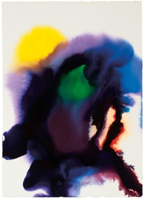 Lot 258, Phenomena Byron's Hunch, Paul Jenkins, 1978, Image Courtesy Los Angeles Modern Auctions