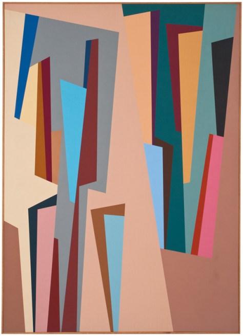 Lot 362, #7, Karl Benjamin, 1986, Image Courtesy Los Angeles Modern Auctions