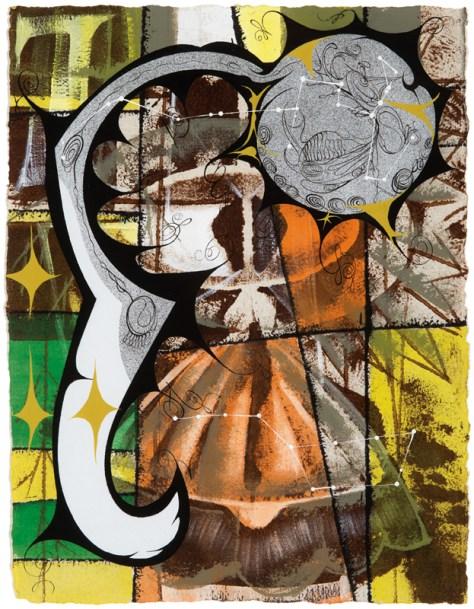 Lari Pittman, Lot 430, Image Courtesy LAMA