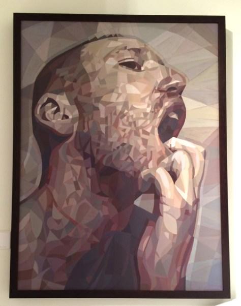 Delusion Study, Oil on Canvas, 40 x 30, $4,500, Lui Ferreyra, William Havu Gallery, Photo Romi Cortier