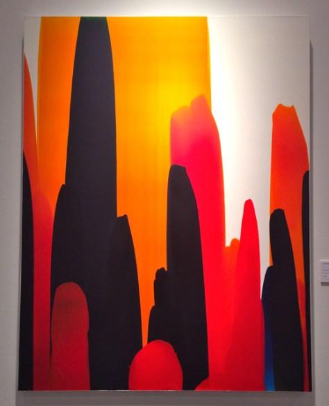 #22, Oil on Canvas, 45 x 35, Ryan Magyar, $4,000, William Havu Gallery, Photo Romi Cortier
