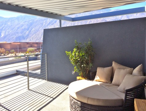 Rooftop Deck, Sol 2, Palm Springs, Photo Romi Cortier