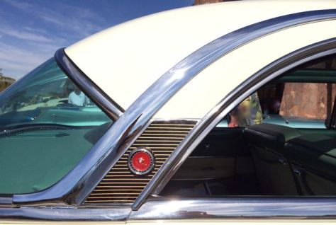 Chrome Window and Roof Trim, 1954 Mercury Monterey, Photo Romi Cortier