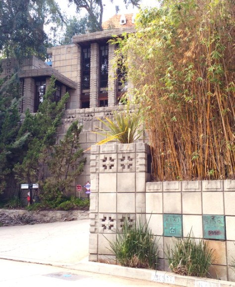 Frank Lloyd Wright's Storer House, Los Angeles, Photo Romi Cortier