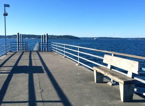 The Pier at Annapolis, Washington, Photo Romi Cortier