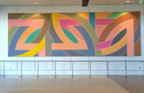 York Factory A, 1972, By Frank Stella, Photo Romi Cortier