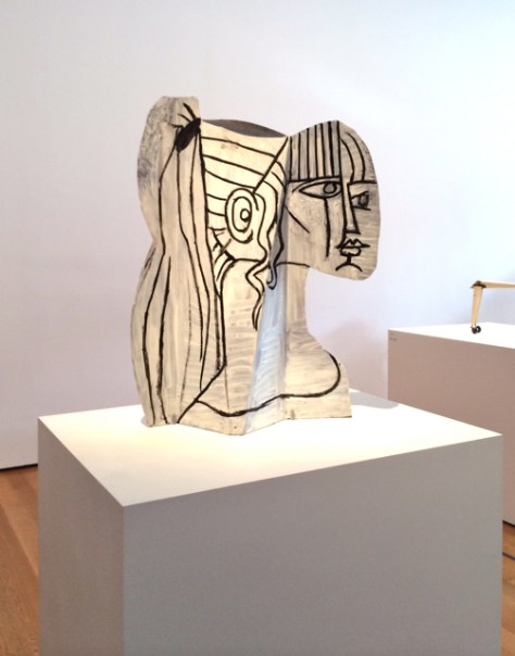 Sheet Metal Sculpture, Pablo Picasso, MOMA, NYC, Photo Romi Cortier
