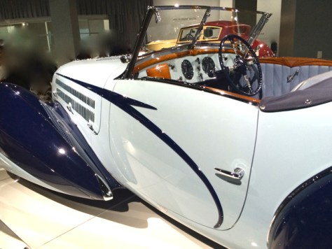 1938 Delahaye, Type 135M, (Collection of the Mullin Automotive Museum) Peterson Automotive Museum, Photo Romi Cortier