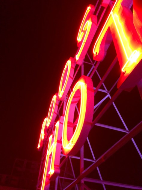 Roosevelt Hotel Sign, Hollywood, Ca. Photo Romi Cortier