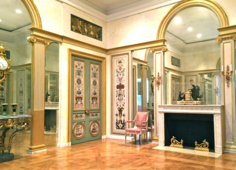 Neoclassical Paneled Room, Getty Center, Los Angeles, Photo Romi Cortier