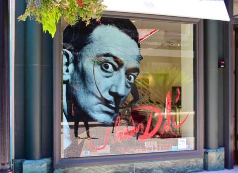 Salvador Dali, Beverly Hills, Ca., Photo Romi Cortier