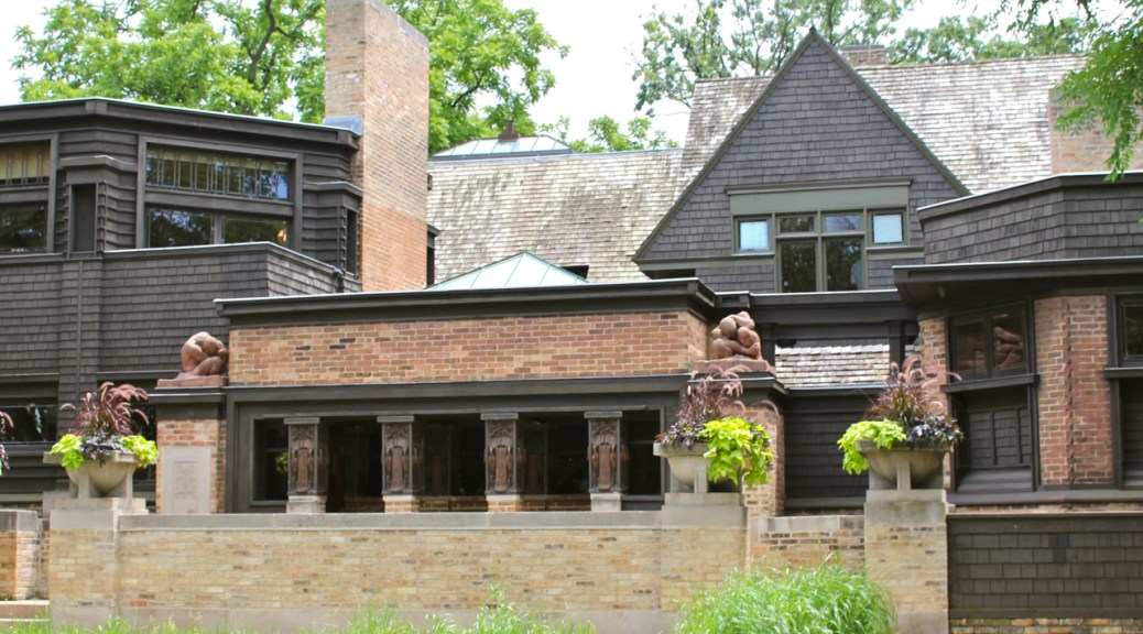 Frank Lloyd Wright Home and Studio, Oak Park Illinois, Photo Romi Cortier