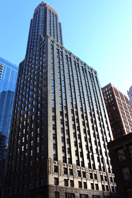 Carbon and Carbide Building, Chicago, Photo Romi Cortier