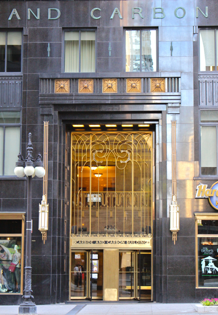 Carbide and Carbon Building, Chicago, Photo Romi Cortier