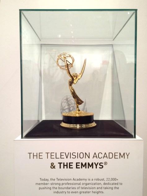 FIDM Museum & Galleries, Emmy Statue, Photo Romi Cortier