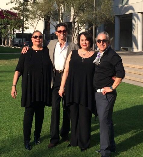FIDM event: Lori, Mathew Hancock, Lisa Preciado, Romi Cortier