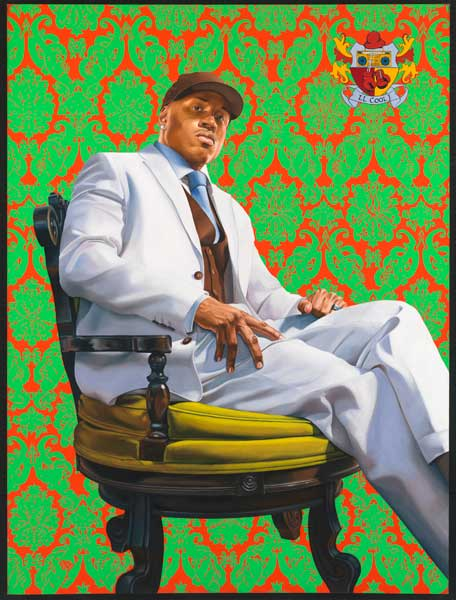 LL Cool J, Oil on Canvas, Kehinde Wiley, 2005