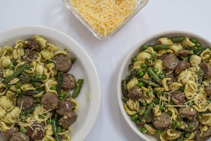 Pesto Orecchiette Chicken Sausage