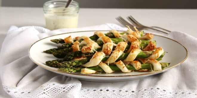 Crispy Asparagus with Lemon Mayonnaise