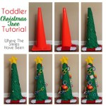 Toddler Christmas Tree Tutorial