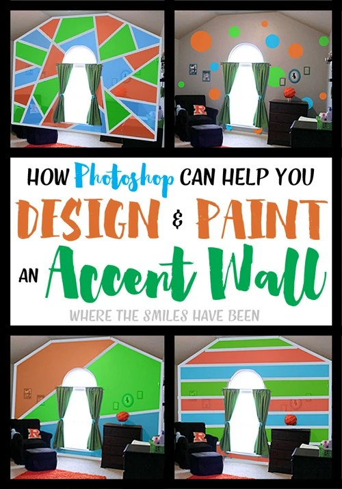How Photoshop Can Help You Design Paint An Accent Wall