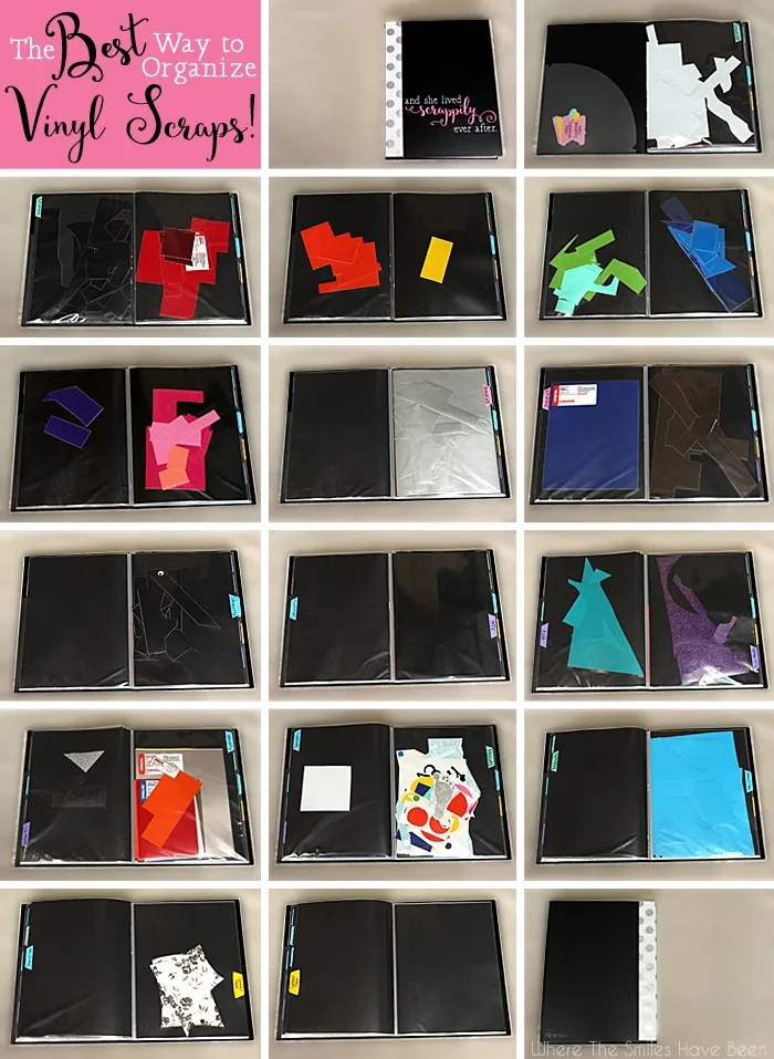 The Best Way To Organize Vinyl Scraps Free Cut Files