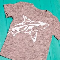 Wrap-Around Shark Shirt + Heat Press Giveaway!