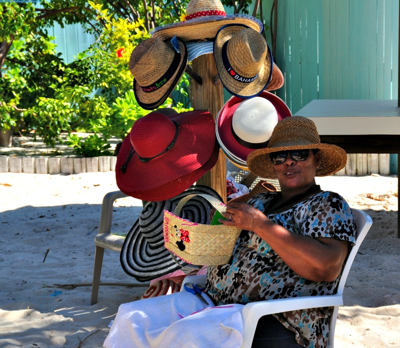 selling souvenirs princess cays
