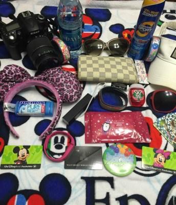 Disney World Tips: Packing List