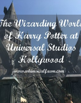 The Wizarding World of Harry Potter at Universal Studios Hollywood Title Card
