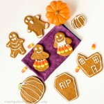 Halloween Skeleton Cookies