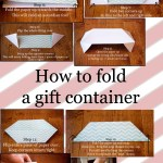 Origami Container for Gifts