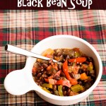 15 Minutes to Black Bean Soup
