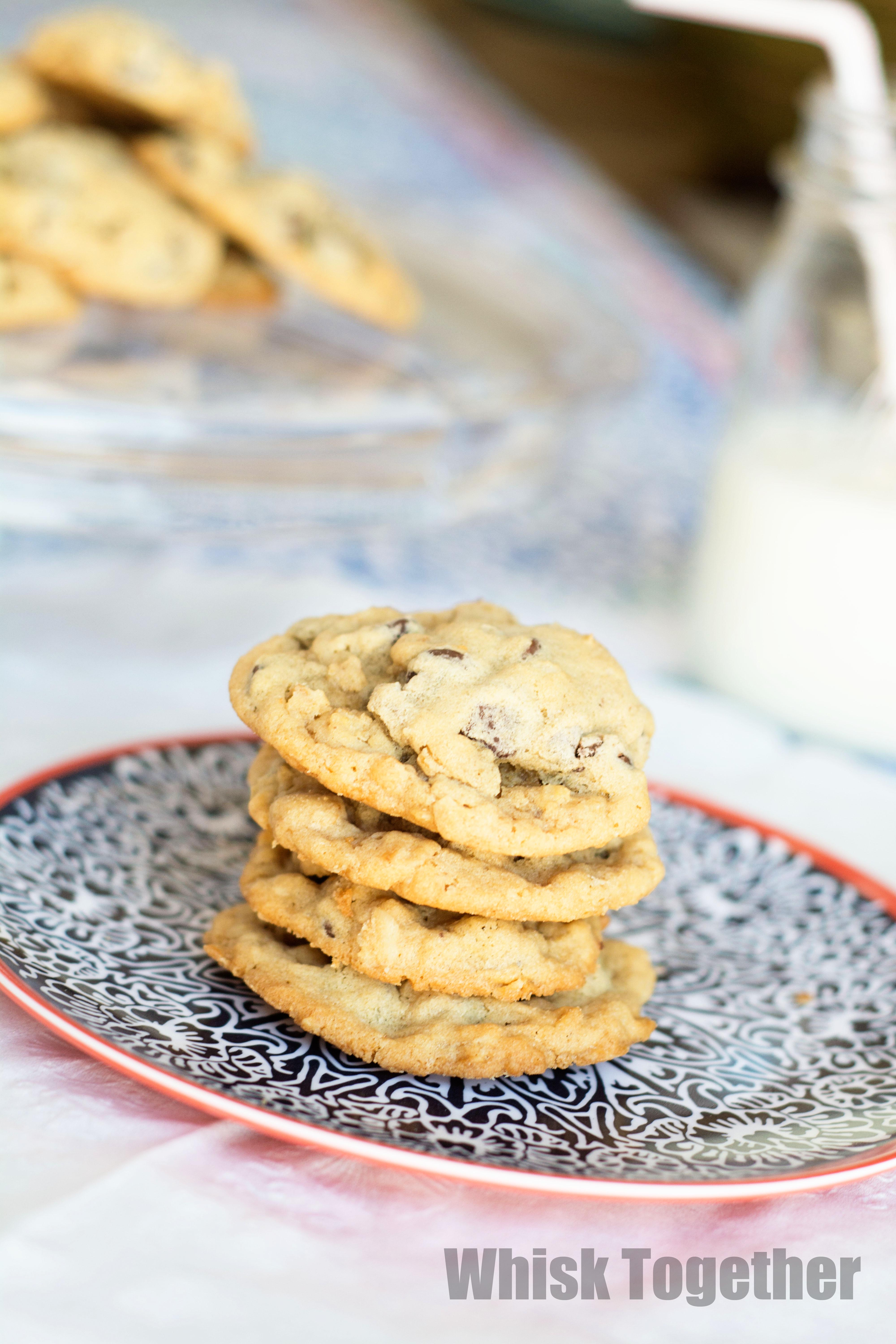 Mary Chewy Gooey Chocolate Chip Cookies