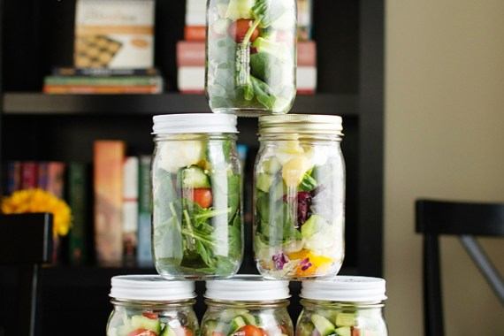 Let's Party! — Salad in a Jar Party That Is