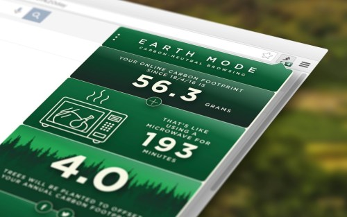 EARTH MODE is a new plug-in from Johnnie Walker for Earth Day