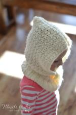 Toddler Hooded Cowl