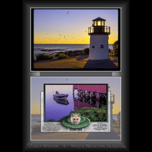 #2028 Lighthouse Notecard