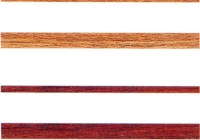 walnut and rosewood