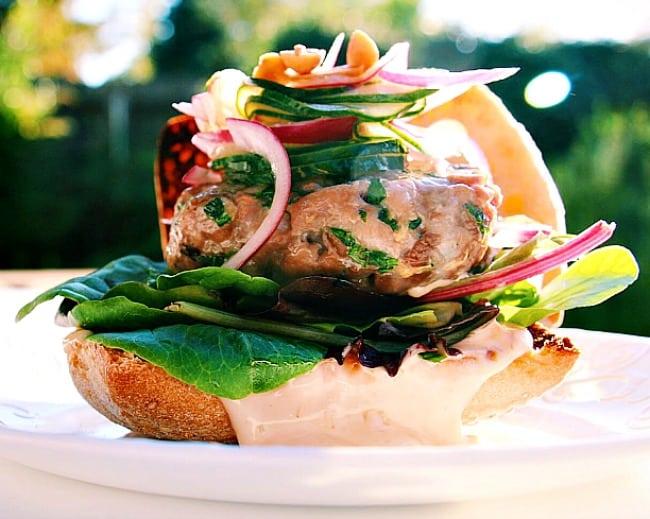 Home » Thai Fusion Ahi Tuna Burgers