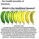 Did you know that as a banana ripens it becomeshellip